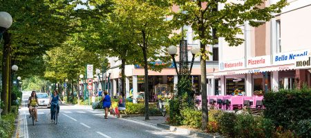 The spa, restaurants, shops and other businesses