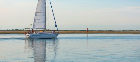 Calm and clear waters, Bibione Pineda…
