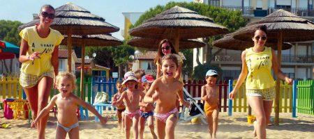 A beach for children