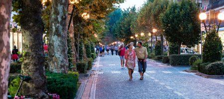 Il piacere di passeggiare a Bibione